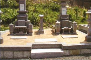施工事例:墓地2
