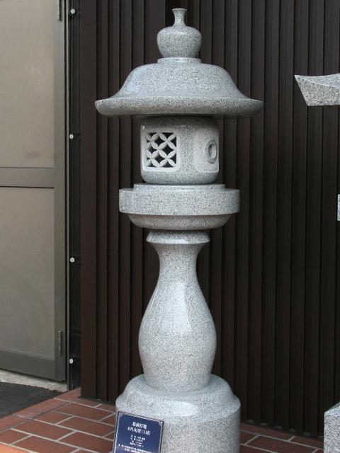 墓前灯篭  4尺丸型(1対)